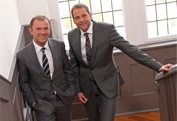 Gerhard Schaller (li., Geschäftsführer,) und Markus Fürst (Prokurist)